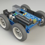 Mobility Shield for Arduino (Render 1)
